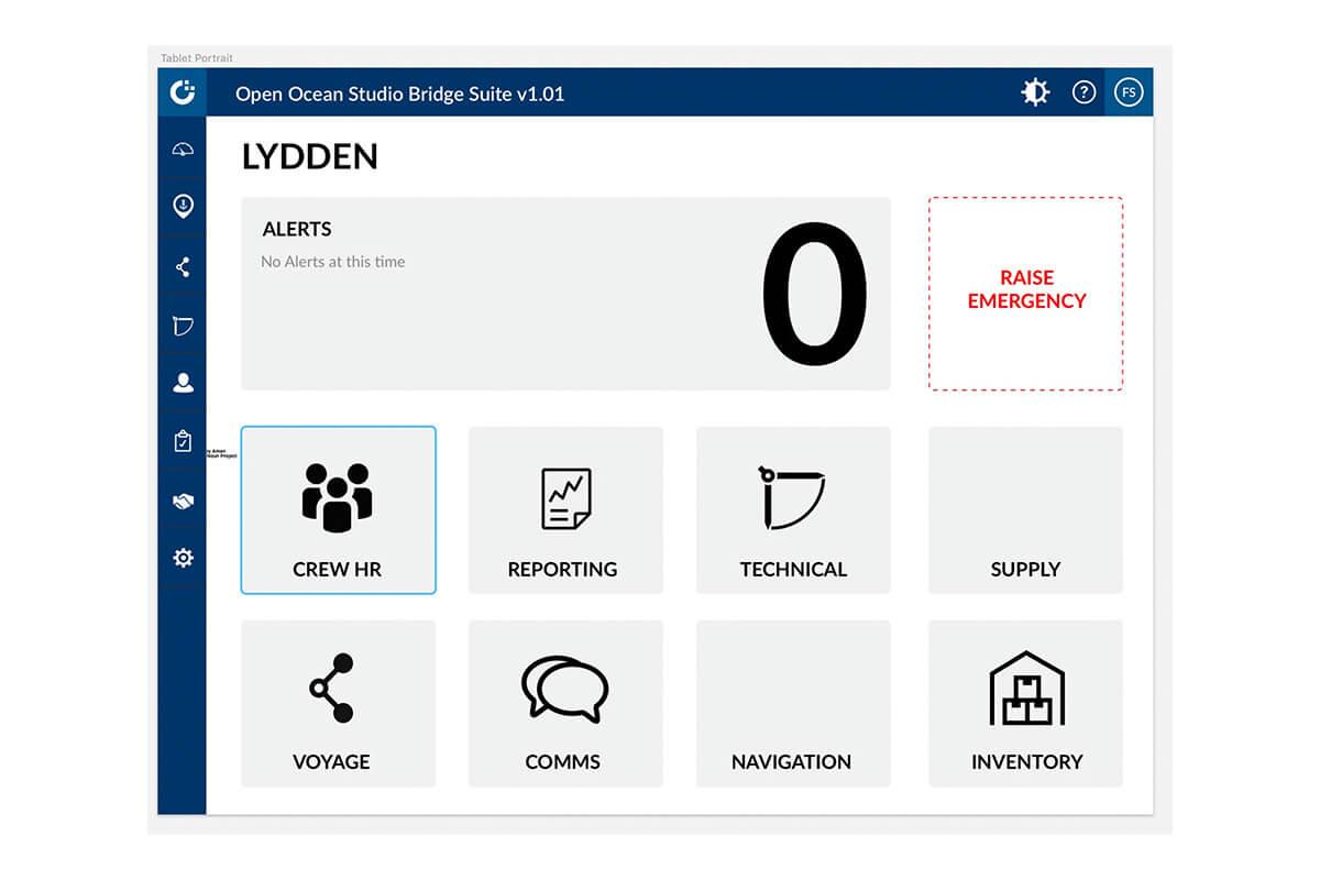 End-To-End Service Design Maritime Software Platform - OpenOcean Studio®